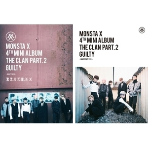 몬스타엑스 (MONSTA X) - 미니 4집 / THE CLAN 2.5 PART.2 GUILTY (GUILTY Ver.)
